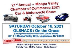 Moapa Valley Car Show 2021